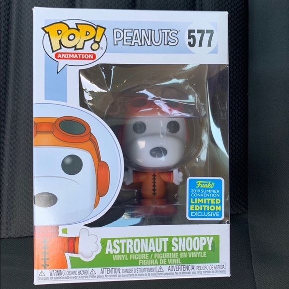 Funko Other - Astronaut Snoopy-Funko Pop! SDCC Excl.